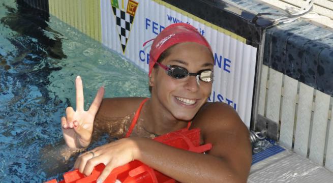 Erika Gaetani alunna della 3D AFM è campionessa europea juniores nei 100 metri dorso.